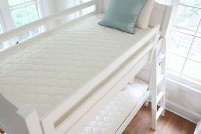Small Bunk Bed Sofa Bed Quilted Mattress Protector Topper Sizes 4ft
