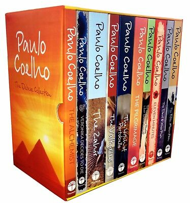Paulo Coelho The Deluxe Collection 10 Books Box Set Pack Alchemist, Valkyries