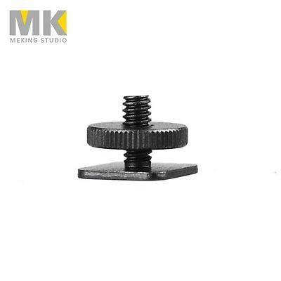 "Camera Photo Free 1/4""-20 Tripod Screw to Flash Hot Shoe Mount Adapter"