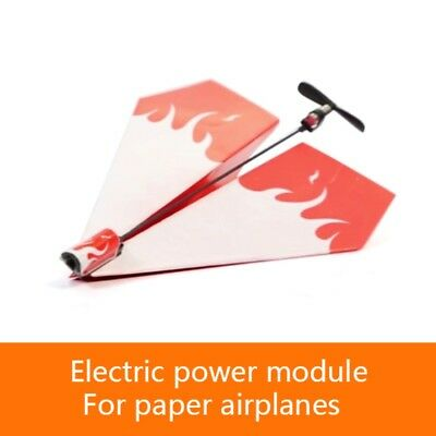 Electric Paper Plane Airplane Educational Power Up Conversion Kit Toy Gift Kids