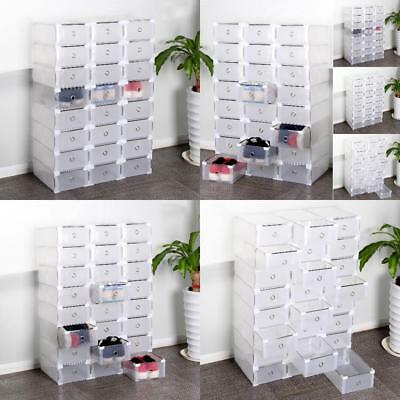 5 st schuhaufbewahrung schuh box schuhbox schuhkasten. Black Bedroom Furniture Sets. Home Design Ideas