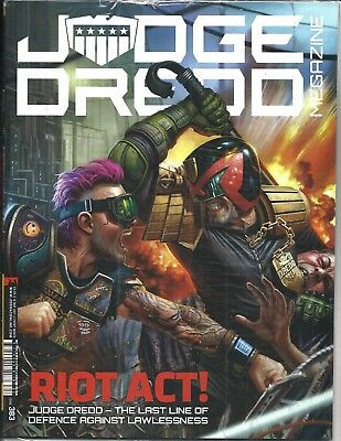 Judge Dredd Megazine # 383 (Riot Act! Sealed With Supplement, 16 May 2017), New