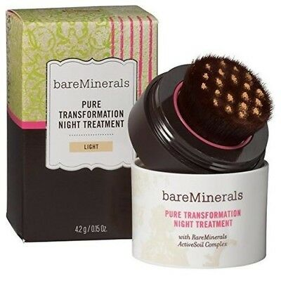 bareMinerals Pure Transformation Night Treatment 4.2g - CHOOSE YOUR SHADE