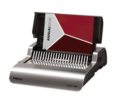 FELLOWES Quasar E 500 Electric Comb Binding Machine - punches up to 25 sheets