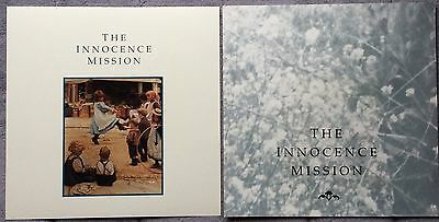 The Innocence Mission Self Titled '89 RARE promo 12 x 12 poster flat