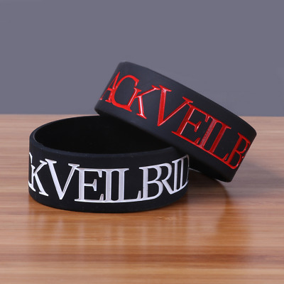 Black Veil Brides rock band music Silicone Rubber Wristband bracelet jewelry new