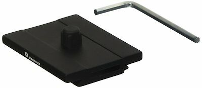 Manfrotto MSQPL Quick Release Plate for Q6 Top Lock System Black