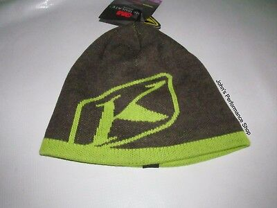 Klim Lime Green Beanie Hat One Size Fits Most 3133-002-000-330