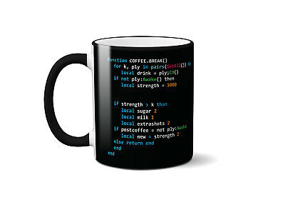 Programmer Coffee Mug Funny Office Cup Gift Birthday Software Developer Computer