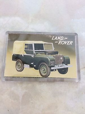 Land Rover Fridge Magnet