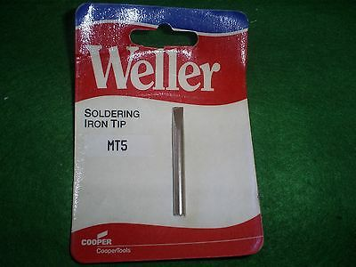 Weller Mt5 Replacement Soldering Iron  Chisel Tip Fits Iron S125