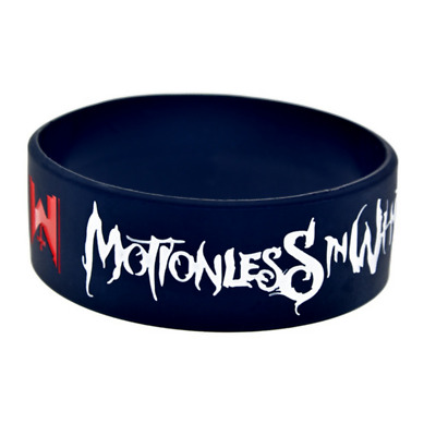 Motionless in White rock band music Silicone Rubber Wristband bracelet jewelry