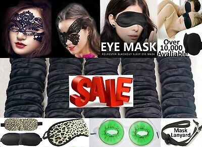 Travel Eye Mask Sleep Mask Soft Shade Cover Rest Relax Blindfold Wholesale Lot