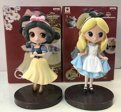snow white & alice 2pcs pvc figure toy anime collection doll 3D model new