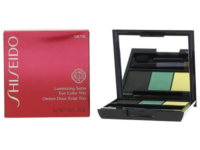Shiseido Paleta De Sombras Luminizing Satin Eye Color Trio Be 716 3 g