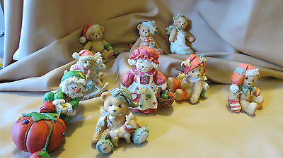 Collectable Bears LOT OF 9 BEARS DIFFERENT MAKERS