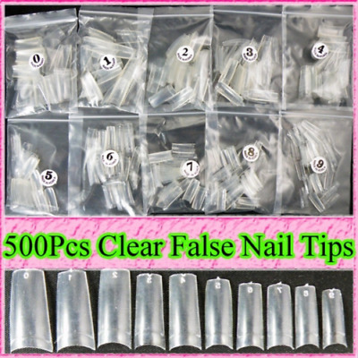ungfu Cool 500 Capsules pour ongles Transparent
