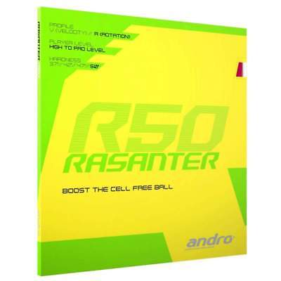 Andro Rasanter R50 Table tennis rubber UK official distributor
