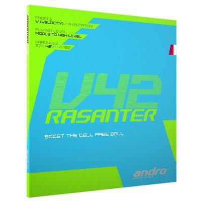 Andro Rasanter V42 Table tennis rubber UK official distributor Free P&P