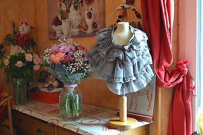 jupe repetto 6 ans neuve gris signac gros neoud   tulle jupon+++