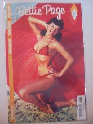 Bettie Page #2 Photo Cover SEXY VF/NM Comics Book