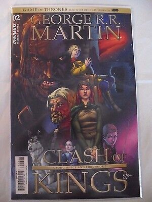 Game of Thrones A Clash of Kings #3 B Cover Dynamite NM Comics Book Game Throne