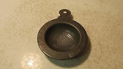 Antique Tin Tea Strainer Scribner Nebraska