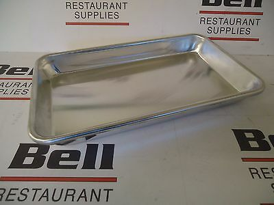 "*NEW* 1x Update ABNP-13 Eighth-Size Bun Sheet Pan - 6"" x 10"" - Aluminum"