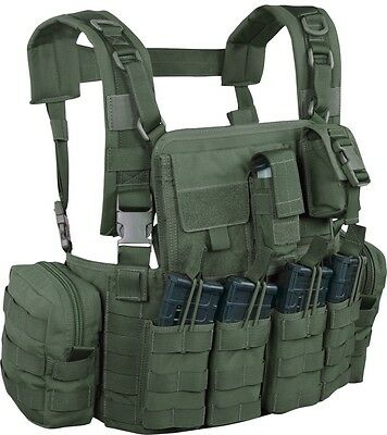 Warrior Assault System Elite Chest Rig Army 5.56 US Combat Army Weste oliv