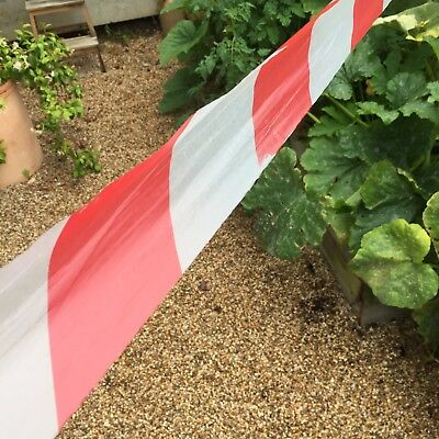 Hazard Warning Barrier Tape Non Adhesive Red & White 75 x 500m, Events And Shows