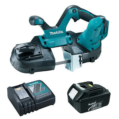 Makita XBP01Z 18-Volt LXT Cordless Portable Band Saw, BL1830 Battery and Charger