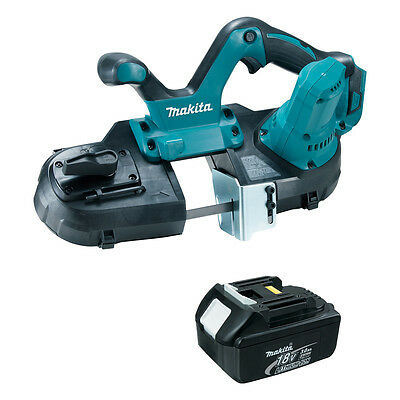 Makita XBP01Z 18-Volt LXT Cordless Portable Band Saw with 3.0 Ah BL1830 Battery