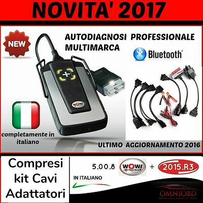 Autodiagnosi Universale Bluetooth W0W 2016 Auto Diagnosi Obd + 2015.3 +Database