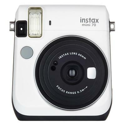 Fujifilm Instax Mini 70 Instant Camera with sealed expired film-OpenBox-White