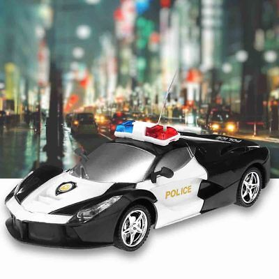 RC Police Car Truck Vehicle 2 Channel Wireless Remote Control Kids Toy Gift Boy