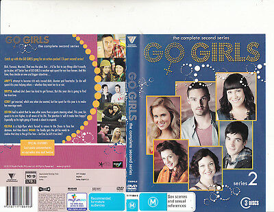 Go Girls-2009-TV Series New Zealand-[Complete Second Series-3 Disc Set]-3 DVD