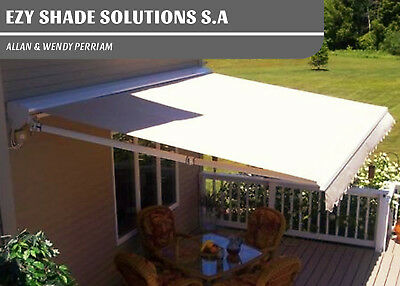 Outdoor Blinds Retractable Awning Folding Arm in New Town SA