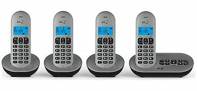 BT 3580 Cordless Telephone with Answer Machine - Quad.