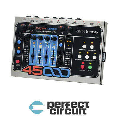 Electro-Harmonix 45000 Multi Track Looping RECORDER - NEW - PERFECT CIRCUIT