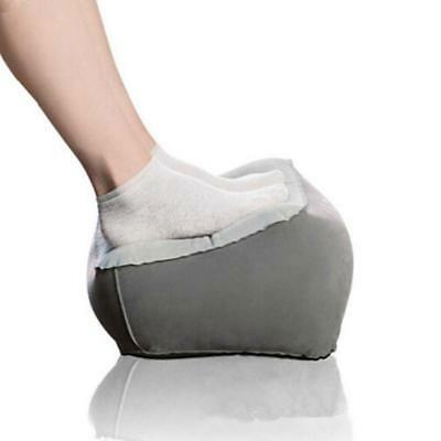 Inflatable Travel Foot Rest Footrest Pillow Reduce DVT Risk on Flights Useful BY