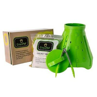 EnsoPet - Pet Waste Composting Kit - Turn your Pet Poop into Garden Compost