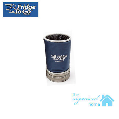 Fridge To Go Coolzie Stubby Holder Cooler With Cooler Block