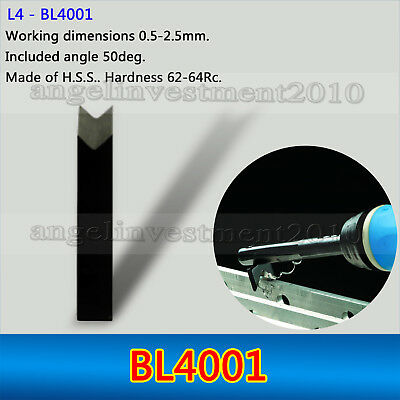 1 piece BL4001 Deburring System Blades Applicable