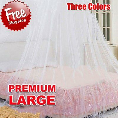 Elegant Round Lace Insect Bed Canopy Netting Curtain Dome Mosquito Net SG