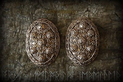 HEDEBY OVAL BROOCHES Bronze