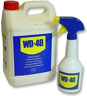 WD40 Lubricant 4 Litre Value Pack includes spray bottle WD40 61124