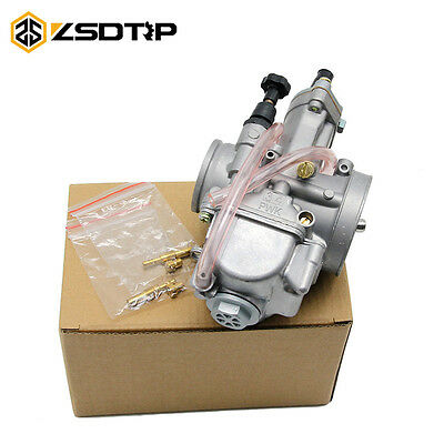34MM KOSO PWK OKO Carburetor Power Jet Carb For Motorcycle Dirt Bike ATV Scooter