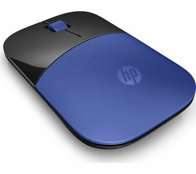 HP Z3700 Wireless Optical Mouse - Blue & Black - Currys