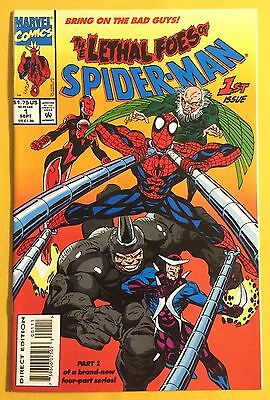 1993 Marvel: The Lethal Foes Of Spider-Man Comic # 1  Unread/New