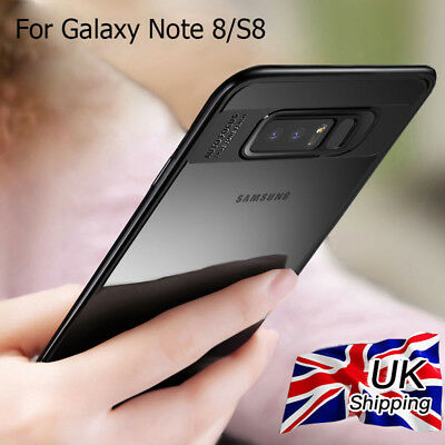 For Samsung Galaxy S8/S8 Plus/Note 8 Shockproof Ultra Thin TPU PC Case Cover